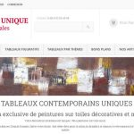 Tableau unique decoratif