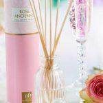 Diffuseur parfum rose
