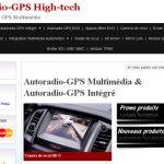 Boutique autoradio multimedia