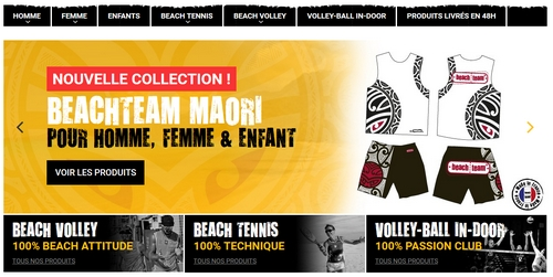 short et maillot beach volley