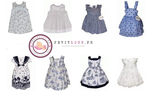 cadeau bébé et vêtements de cérémonie