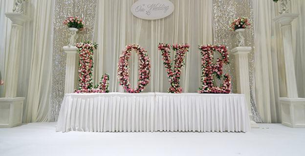 décoration mariage avec des fleurs