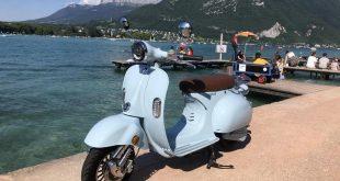 scooter rétro électrique